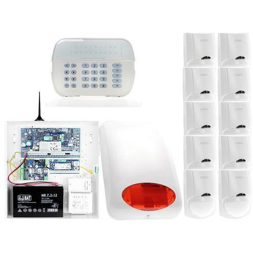 Za12550 zestaw alarmowy 10x czujnik ruchu manipulator led powiadomienie gsm marki Dsc