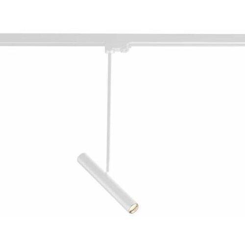 Reflektorowa LAMPA sufitowa YABU 7705 Shilo regulowana OPRAWA tuba do szynowego systemu 3-fazowego biała, kolor biały;czarny