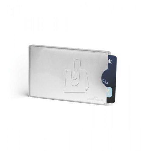 Etui Durable ochronne na 1 kartę RFID SECURE 10 szt. 8900-23, 55947