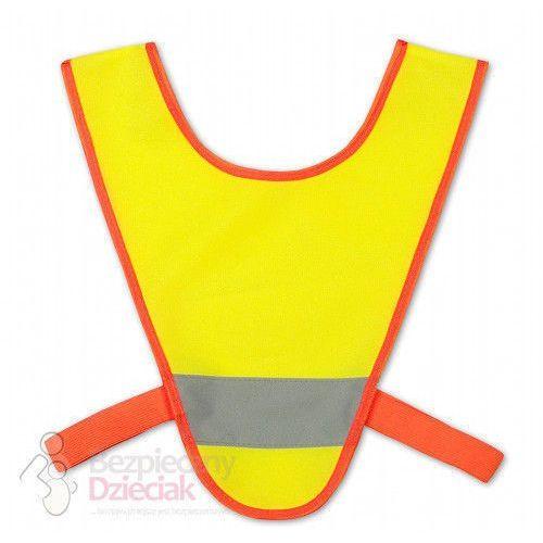 Kando Szelki odblaskowe mini przedszkolaków żółto-pomar. (2501234501823)