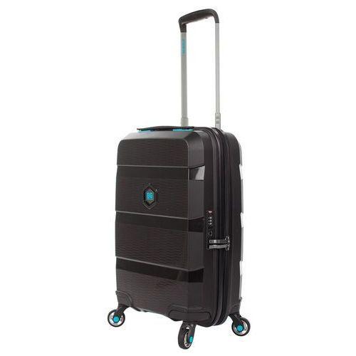 BG Berlin ZIP2 walizka mała kabinowa 20/55 cm / Rock-Star Black - Rock-Star Black