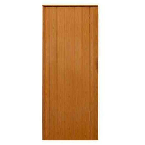 Gockowiak Drzwi harmonijkowe 008p 026 ciemna olcha mat 80 cm