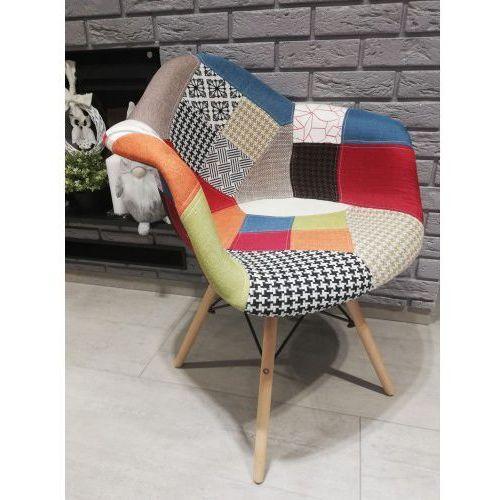 Big meble Krzesło tapicerowane patchwork big 018 dostawa 0zł