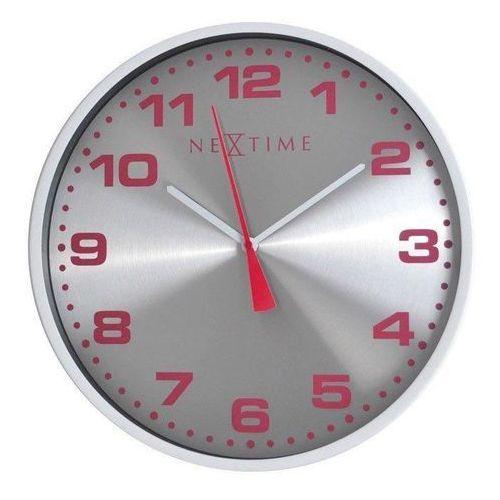 Zegar ścienny Dash srebrny (8717713006381)