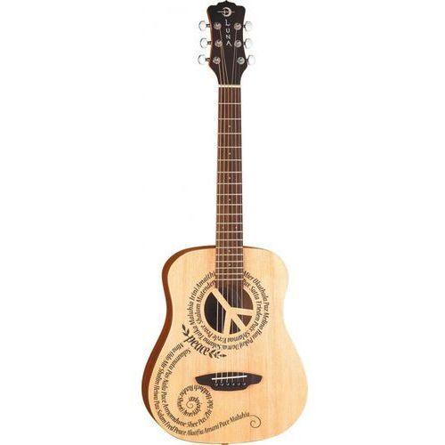 Luna safari peace gitara akustyczna 3/4