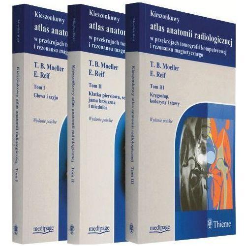 KIESZONKOWY ATLAS ANATOMII CT I MR. KOMPLET (TOM I-III) MOELLER