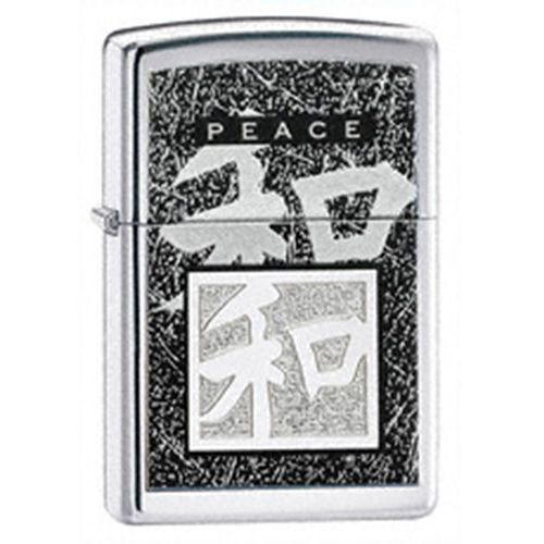 Zapalniczka  chiński symbol peace, high polish chrome marki Zippo