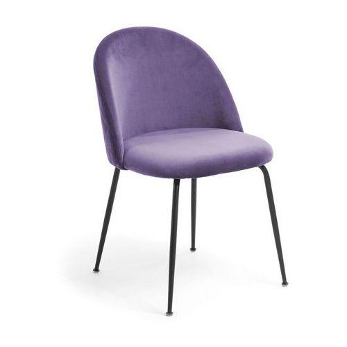 9design Krzesło metalowe mystere fioletowe - fioletowy