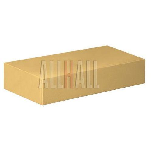 Allhall Półka metalowa z szufladą f-w008