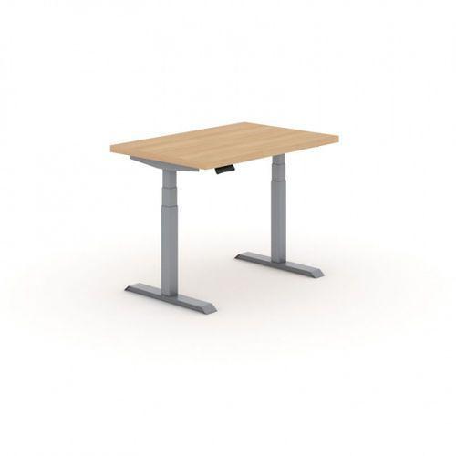 B2b partner Stół warsztatowy z regulacją wysokości, 1 silnik, 1600 x 800 mm