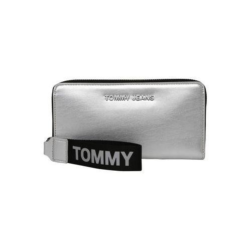 Tommy jeans portmonetka czarny / srebrny (8719859131866)
