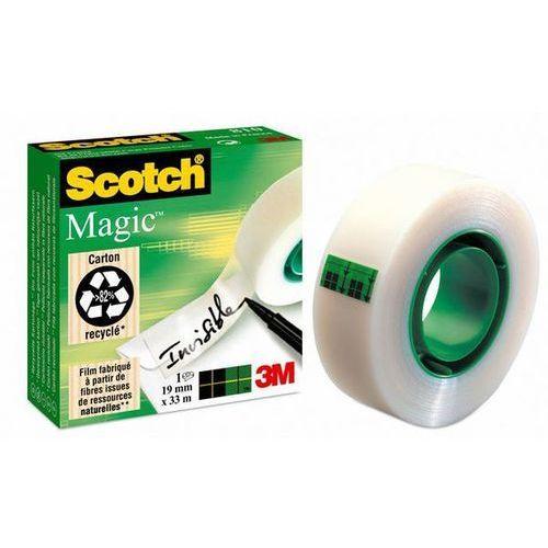 Scotch taśma klejąca magic matowa w pudełku 810, 19mmx3 marki 3m