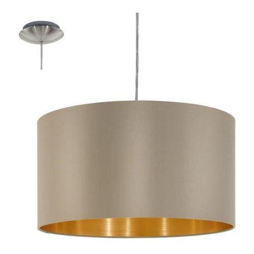 Eglo 31602 - Lampa wisząca MASERLO 1xE27/60W/230V (9002759316020)