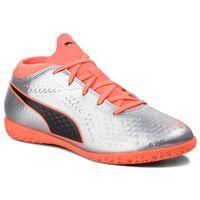 Puma Buty - one 4 syn it jr 104783 01 silver/orange/black 1