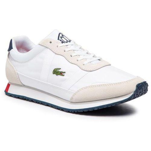 Sneakersy LACOSTE - Partner 119 1 Sma 7-37SMA0043407 Wht/Nvy/Red, kolor biały