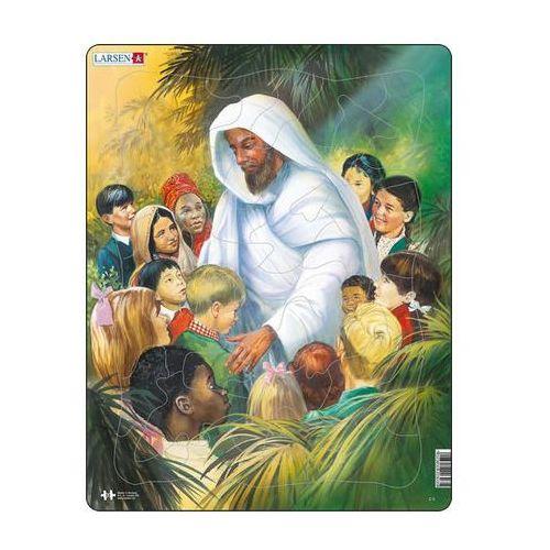 Puzzle MAXI - BIBLE - Ježíš s dětmi/32 dílků neuveden