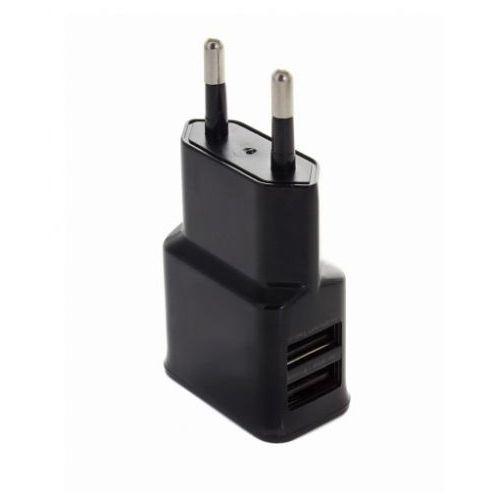 Ładowarka sieciowa 2 USB 2A Czarna, CE3F-257DD