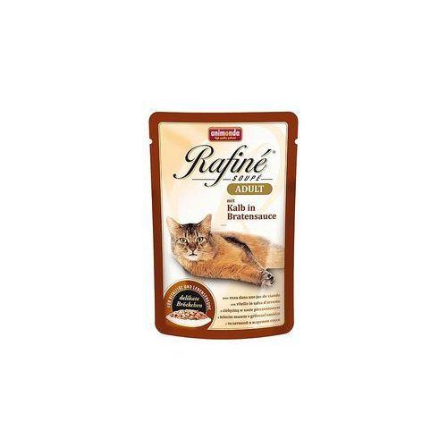 ANIMONDA Rafine Soupe Adult smak: cielęcina w sosie pieczeniowym 48x100g (4017721836562)