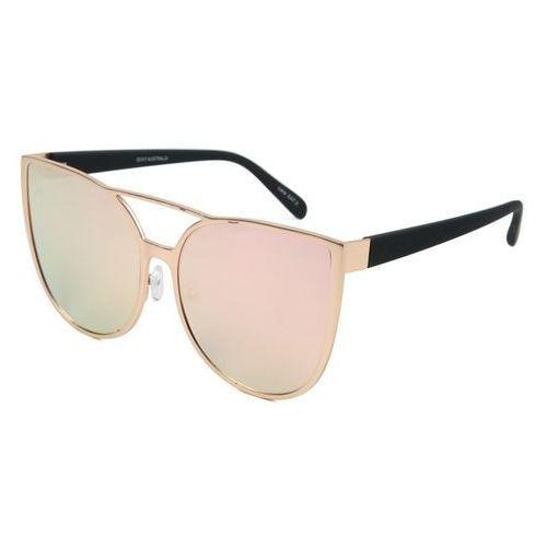 Quay australia Okulary słoneczne quay australia qw-000162 sorority princess gold/pnk