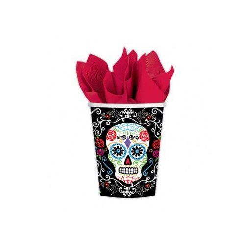 Amscan Kubeczki meksykańska czacha halloween - 266 ml - 10 szt. (0013051744373)