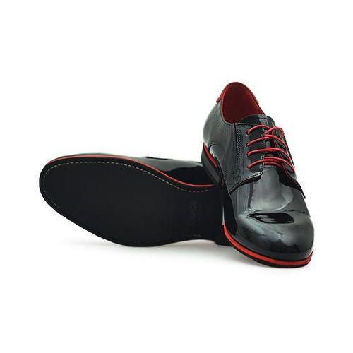 Pantofle Duo Men 422 Czarne lakier