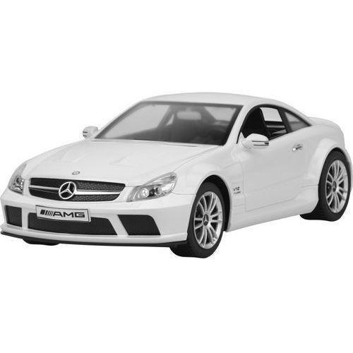 Samochód zdalnie sterowany  mercedes sl 65 amg biały series marki Buddy toys