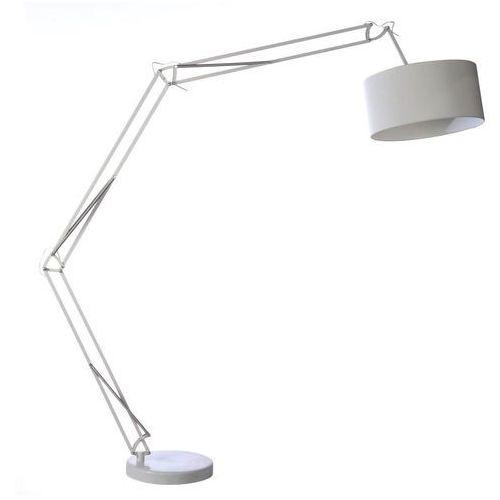 Azzardo Bosse AZ1040 FL-13072-WH Lampa stojąca podłogowa 1x40W E27 biała - NEGOCJUJ CENĘ, FL-13072 WH