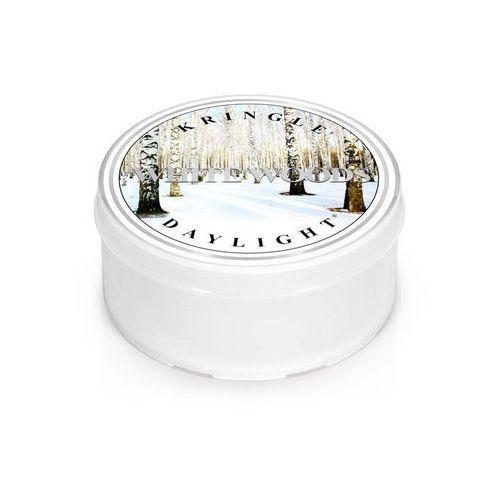 Kringle candle White woods mała świeca zapachowa biały las - daylight 1,25oz, 35g, 1 knot