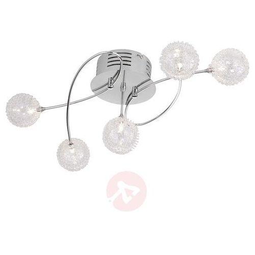 Lampa sufitowa LeuchtenDirekt 50183-17, G4, (DxSxW) 60 x 40 x 24 cm, chrom