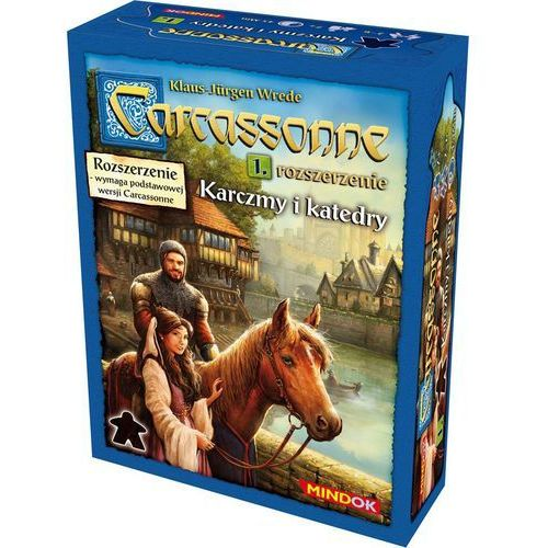 Bard centrum gier Carcassonne rozszerzenie 1 karczmy i katedry