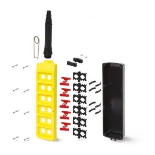 Obudowa kasety sterowniczej, dwurzędowa z 12 otworami PLB12K