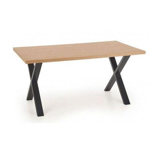 Minimalistyczny stół rozkładany Lopez 3X 160 XL - dąb