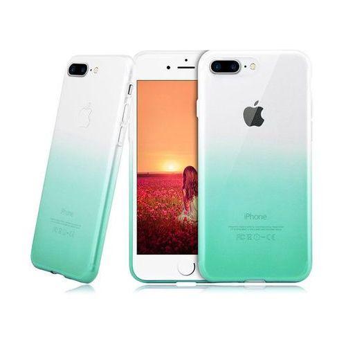 Etui ombre case apple iphone 7 plus / 8 plus zielone - zielony marki Alogy