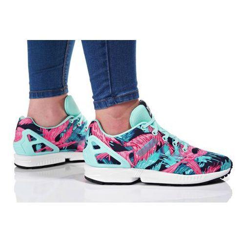 adidas Originals ZX FLUX Tenisówki i Trampki energy aqua/footwear white, CEK04