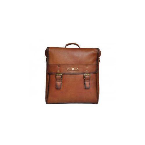 5d359f9b1ee9e Alive 16 koniak - 3 w 1 skórzany plecak, torba, teczka marki Daag