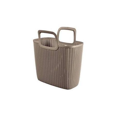 Curver Skrzynka / organizer knit brązowy