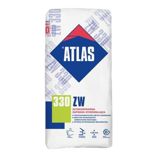 Atlas  zaprawa wyrównująca zw 330 25kg