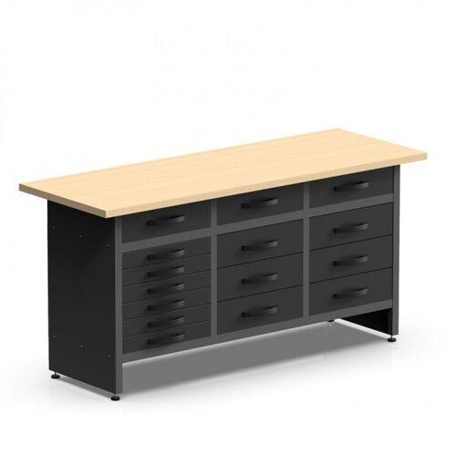 Stół roboczy HOBBY III z 15 szufladami