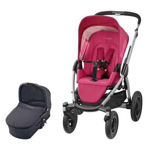 Maxi Cosi Mura 4 Plus BERRY PINK (gondola TOTAL BLACK) 2w1