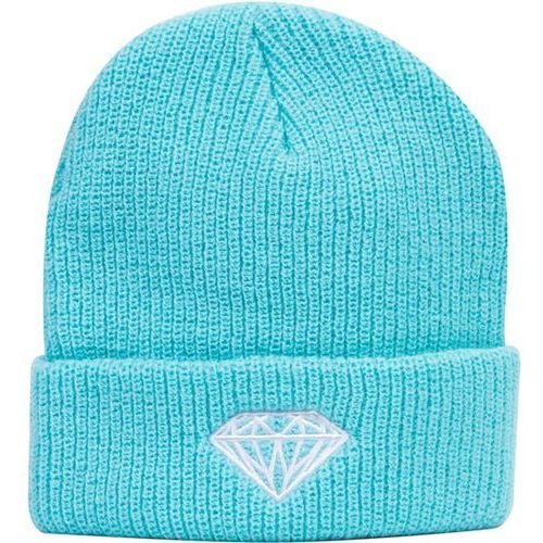 czapka zimowa DIAMOND - Brilliant Fold Beanie Diamond Blue (DBLU) rozmiar: OS