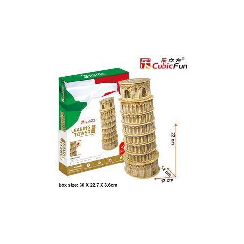 Cubic fun, puzzle 3d krzywa wieża w pizie marki Cubicfun