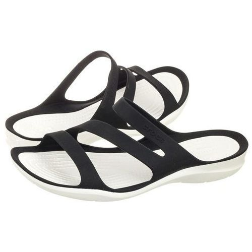 Klapki swiftwater sandal w black 203998-066 (cr120-b) marki Crocs