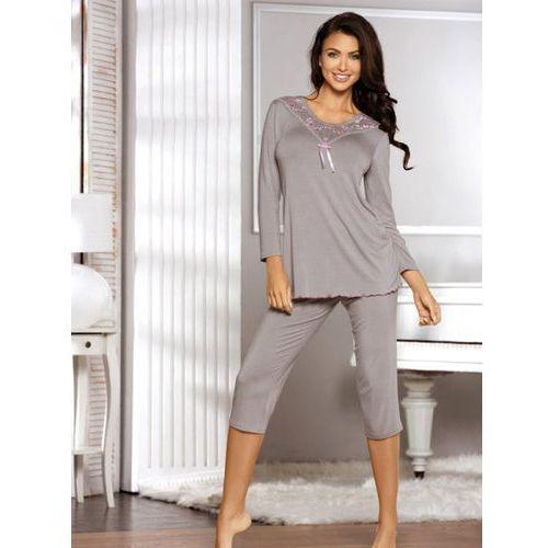 Babella Estia Grey piżama damska