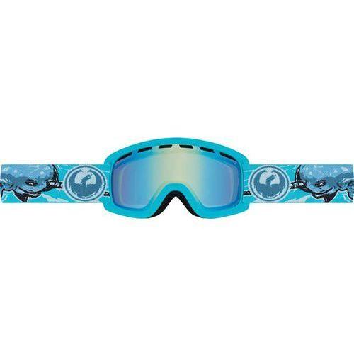 gogle snowboardowe DRAGON - LiL D - Narwale/Yellow Blue Ion (639) rozmiar: OS