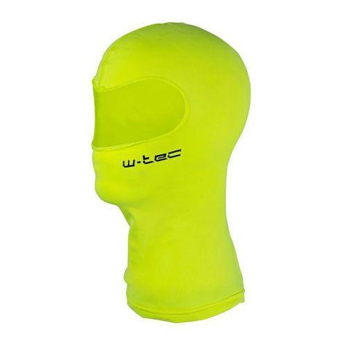 Wielofunkcyjna kominiarka bubaac, fluo żółty, l/xl (59-62) marki W-tec
