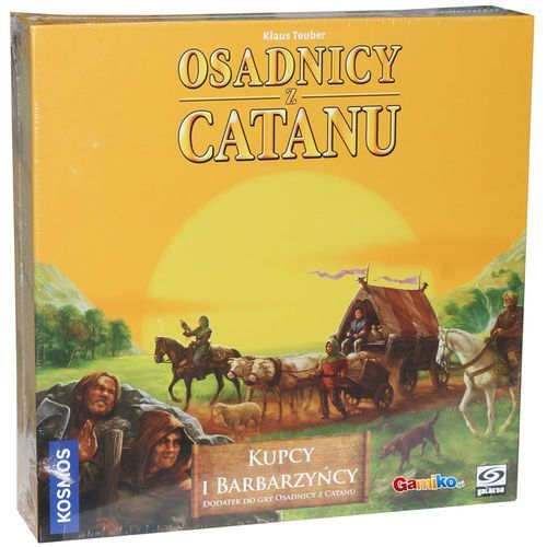 Fantasy flight games Osadnicy z catanu: kupcy i barbarzyńcy