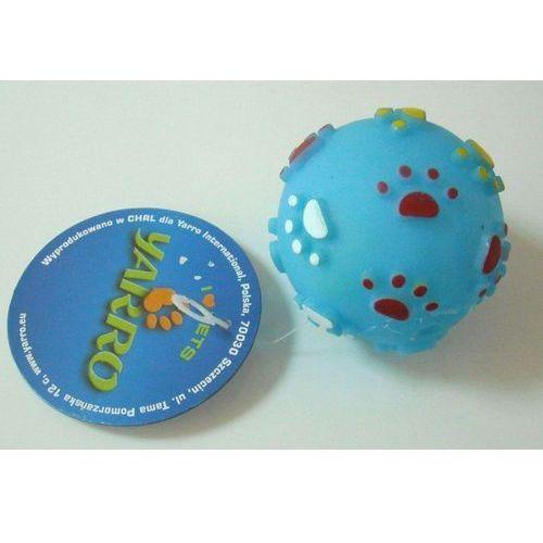 zabawka winylowa dla psa, piłka z łapką 9cm marki Yarro