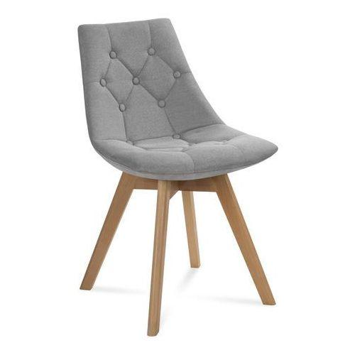 """Krzesło """"LIONEL"""" jasno szare, kolor szary"""
