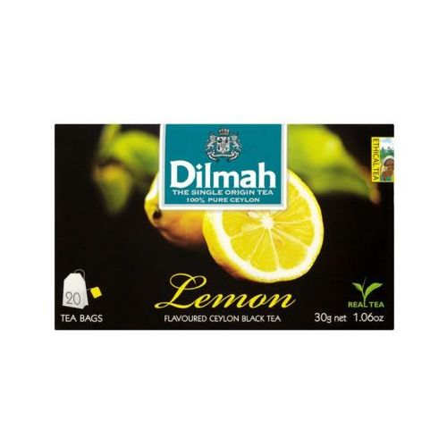 DILMAH 20x1,5g Lemon Herbata ekspresowa aromatyzowana