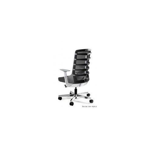 Krzesło biurowe Spinelly M czarne, kolor czarny